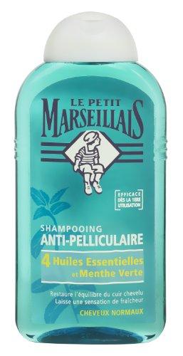 Le Petit Marseillais - Shampooing Anti-Pelliculaire - 4 Huiles Essentielles & Menthe Verte 250ml