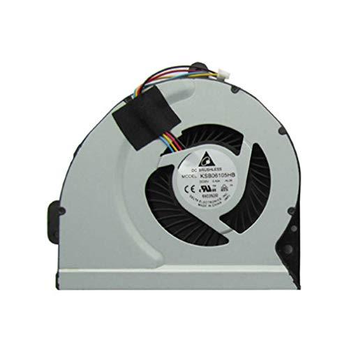 FCQLR Nuevo enfriamiento Ventilador para ASUS A53S A43 A53S A43S A84 A53SD A83SJ X53S X43 X43S CPU enfriamiento Ventilador