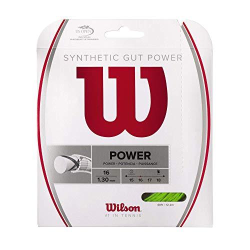 Wilson(ウイルソン) テニス ストリング ガット SYNTHETIC GUT POWER 16(シンセティックガットパワー16) WRZ945700 ウィルソン