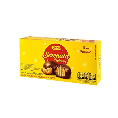 Serenata de Amor GAROTO - Bonbon al cioccolato con cialde croccanti, ripieni di crema di anacardi - 231g