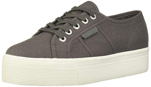 Superga 2790acotw Linea Up and Down Sneaker para mujer, Gris (Eiffel Tower), 40 EU