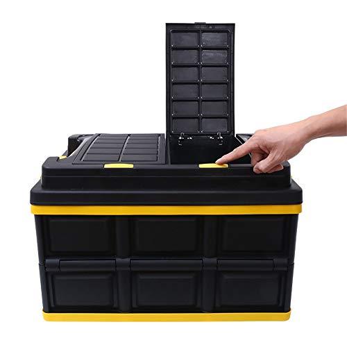 Bolso de almacenamiento de arranque del coche Organizador de arranque del coche para el soporte portátil plegable plegable plegable para el soporte de la caja grande de la caja de la caja de la caja d