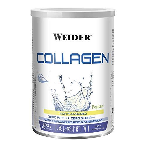 WEIDER Collagen Peptide Kollagen Pulver mit Hyaluronsäure, Vitamin C & Magnesium, 300g