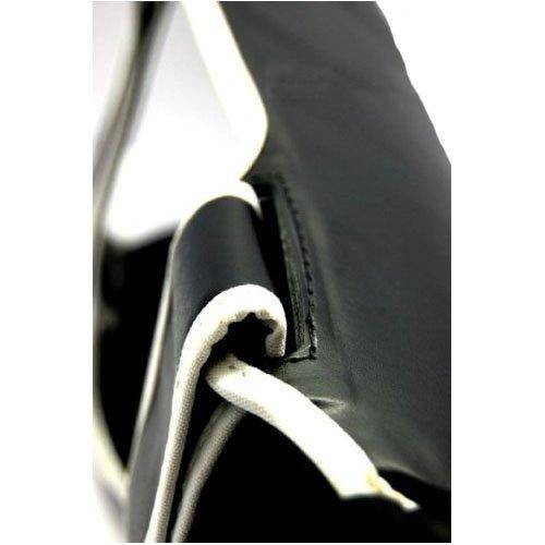 Fairtex Super Comfort Instep Shin Guard, black, L
