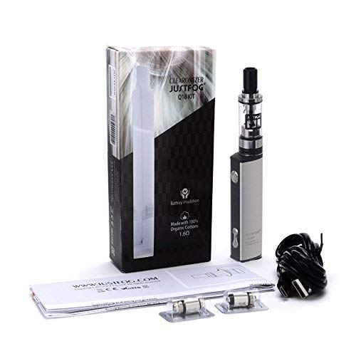 Justfog Q16 Starter Kit - Metallic - Contains Nicotine