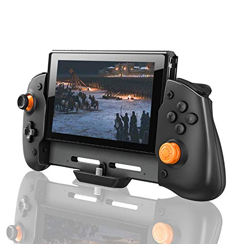Wireless Controller Compatible with Nintendo Switch, Large Controller for Nintendo Switch with Precise Rocker, Dual Motor Shock Feedback and Screenshot