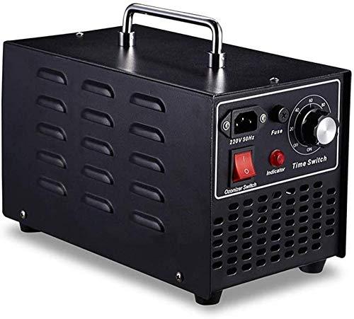 wdpwsl Generador de ozono Comercial 10 g/h Máquina de ozono Industrial o3 Esterilizador desodorizador de purificador de Aire Profesional para el hogar - Negro