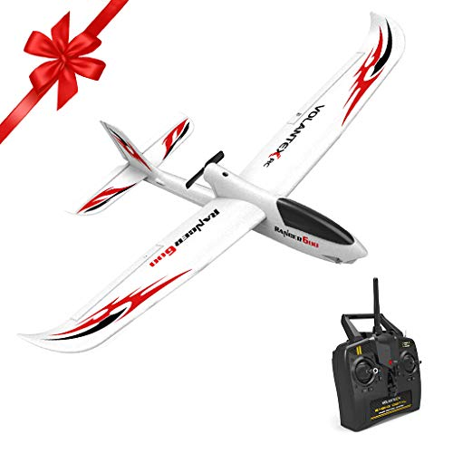Really Go-us Direct Volantex 761-2 2.4GHz 3ch Mini Trainstar 6-Axis Remote Control RC Airplane Fixed Wing Drone Plane RTF for Beginners and Kids Gift 23.62x18.1 Inch