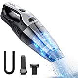 Holife Handheld Vacuum Cleaner Cordless, 7Kpa 14.8V Portable Powerful Cyclonic Suction Hand Vacuum Rechargeable Quick Charge, Lightweight Wet Dry Vac with HEPA Filter for Home Pet Hair Car Cleaning