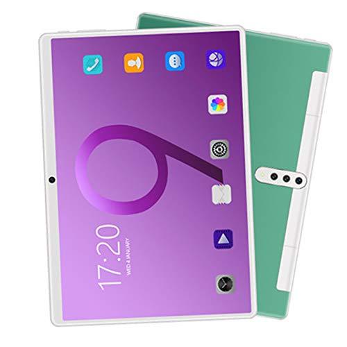 LHONG Tablet 10 Pulgadas Android 4.4 Tablet 1GB de RAM, 16GB de Memoria Interna, Quad-Core, Dual SIM 4000mAh Batería Bluetooth WiFi GPS Cámara Dual