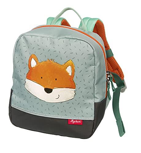 SIGIKID 25204 Mini Rucksack Fuchs Bags Mädchen und Jungen Kinderrucksack empfohlen ab 2 Jahren grau