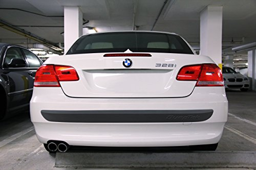 "BumpTek RP-53HD - (53"" HEAVY DUTY EDITION) - MADE IN EUROPE - Stick On Rear Bumper Protection"