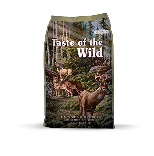Taste of the Wild Canine Pine Forest Venado - 13000 gr