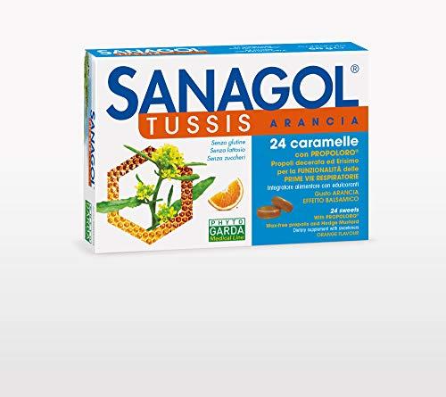 Phyto Garda Sanagol Tuss Gusto Arancia 24 Caramelle
