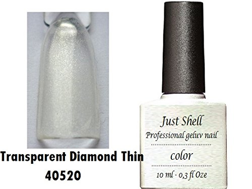 JUST SHELLAC GEL Vernis Couleur a Ongles Mother Of Pearl professionnels gel UV Semi Permanent UV/LED 10ml