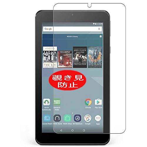 VacFun Pellicola Privacy, Compatibile con Barnes & Noble Nook Tablet 7 7inch (Non Vetro Temperato) Protezioni Schermo Cover Custodia
