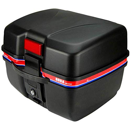 Motorkoffer Top Motorfiets Tour Tail Box Voor Scooters 26 Liter capaciteit, Bagage compartiment Voor Scooters, Motorfietsen, Bromfietsen En Quads