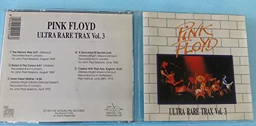 Cd Usado Pink Floyd Ultra Rare Trax Vol 3 Importado Excelente
