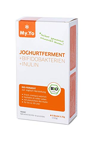 My.Yo Bio Joghurtferment + Bifidobakterien + Inulin, 6x25g