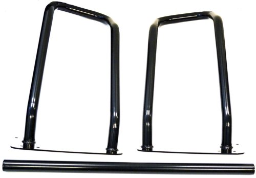 WARN 66405 Trans4mer Headlamp Brush Guard, Fits: Ford F150 (2004-2008), Black