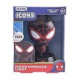 Miles Morales Lampe Icône 3D BDP | Marvel Spiderman | Lampe de nuit ou de bureau sous...
