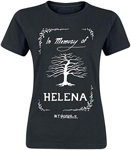 My Chemical Romance In Memory of Helena Donna T-Shirt Nero L 100% Cotone Regular