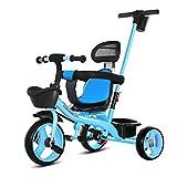 OLMITA Triciclo del Bebé, 3 En 1 Paseo Trike con Asa De Emp