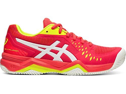 ASICS Women's Gel-Challenger 12 Clay Tennis Shoes, 7M, Laser Pink/White
