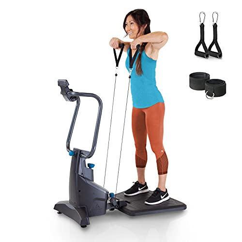 Teeter FitForm Home Gym Strength Trainer - Low-Impact Total Body Cable Resistance - TeeterMove Personal Training App
