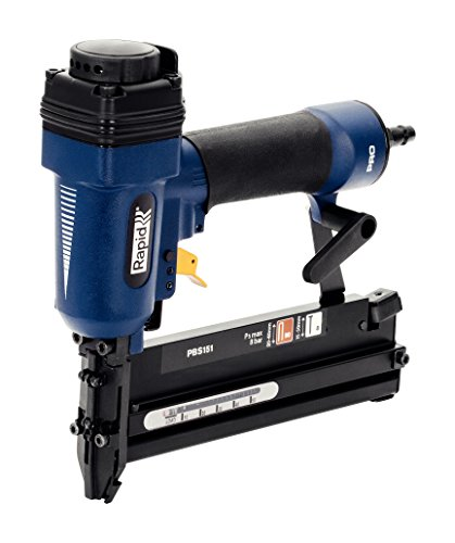 Rapid Druckluftnagler und -Tacker PBS151 für Innenausbau, für Klammern Typ 90, 20-40mm und Nägel Typ 8, 15-50mm