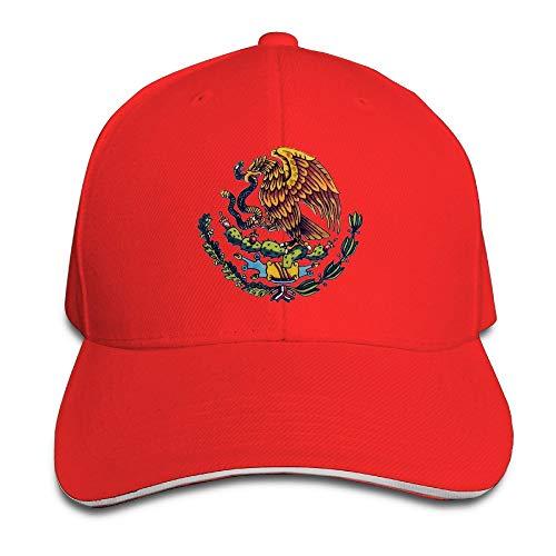 XCNGG Bandera Mexicana Unisex Moda Gorra Sándwich Ajustable/Sombrero Azul Marino