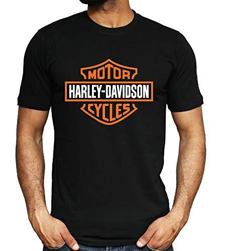 magliette uomo harley davidson Harley Davidson Mens T Shirt Motorcycle Biker Rider Tee Dad New Gift Top S - 3XL