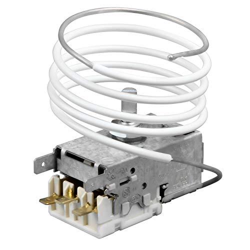 VIOKS - Termostato para frigorífico, regulador de temperatura análogo a Liebherr 6151190 K57-L5537