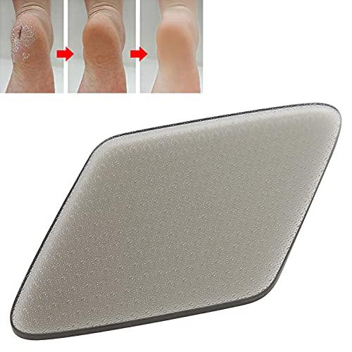 Pedicurehulpmiddel, gemakkelijk te gebruiken Gemakkelijk nano-glasvoetvijl Glasvoet-eeltverwijderaar Goede duurzaamheid voor binnen(black)