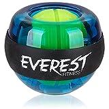 EVEREST FITNESS Boule gyroscopique/Balle d´Energie pour la Musculation, l'escalade et Autres - renforce Les Muscles de la Main et du Bras - Accessoire de Sport conçus pour résister aux Chocs