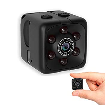 Mini Wireless 1080P Security Camera Motion Activated Small Indoor Outdoor Nanny Cam for Cars Home Apartment  Exclude SD Card   Small Camera