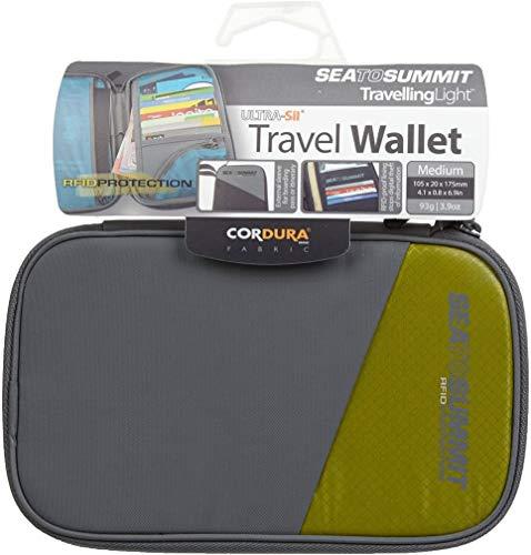 Sea to Summit Travel Wallet RFID M Billetero, Adultos Unisex, Azul