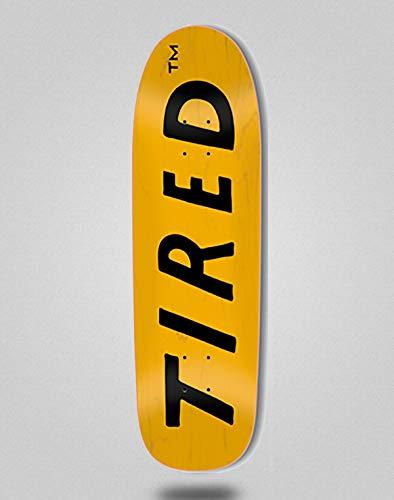 Tired Monopatín Skate Skateboard Deck Uppercase Logo ON SIGAR 8.25