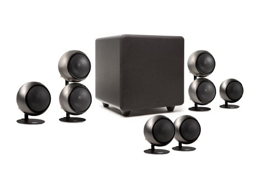 Great Deal! Orb Audio People's Choice 5.1 Home Theater Surround Sound Speaker System in Hand Polishe...