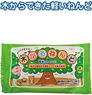 木から作った木かる紙ねんど120g 日本製 japan 【まとめ買い10個セット】 32-615