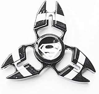 STAR WARS Fidget Spinners, Unique Antique Fidget Spinners - Upgraded High Speed Fidget METAL Aluminum Alloy Spinner Toy in Premium Gift Box, Stress Reducer Relieves ADHD, EDC Focus Toy (SUPER MAN)