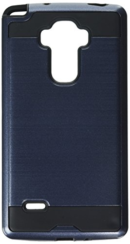 Asmyna Cell Phone Case for LG H740 (G Vista 2), LG LS770 (G Stylo) - Retail Packaging - Black/Blue