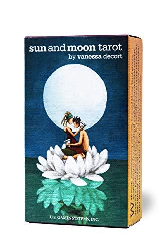 【心が静まるような優しいタッチ】サン・アンド・ムーン・タロット 日本語解説書付き Sun and Moon Tarot