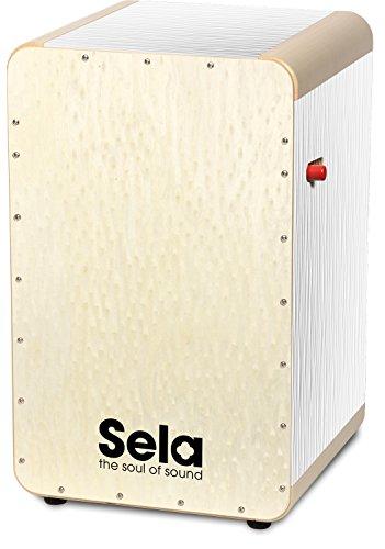 Sela Wave Pro - Cajón Snare Blanco perla