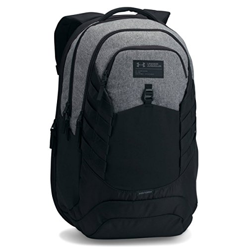 Under Armour UA Hudson Mochila, Unisex Adulto, Gris (Graphite Black 040), Talla única