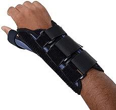 Sammons Preston Thumb Spica Wrist Brace, Thumb Splint, Wrist Splint for Wrist Support, Wrist Brace, Thumb Brace for CMC & MC Joints, Wrist Spica, Thumb Spica, Thumb Support, Right Hand, Medium