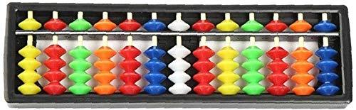 XINGDONG Los niños Abacus Mental Abacus Escuela Primaria Estudiantes Práctica Abacus Kindergarten Puzzle Abacus moda