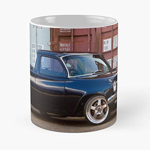 2012 Chad Eh Holden Darke 1964 Utility Ute Best Mug holds hand 11oz made from White marble ceramic