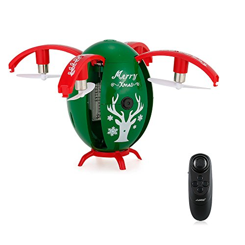 Goolsky JJR/C H66 720P Camera WiFi FPV X-mas Egg Drone Height Hold Folding Selfie G-Sensor Quadcopter