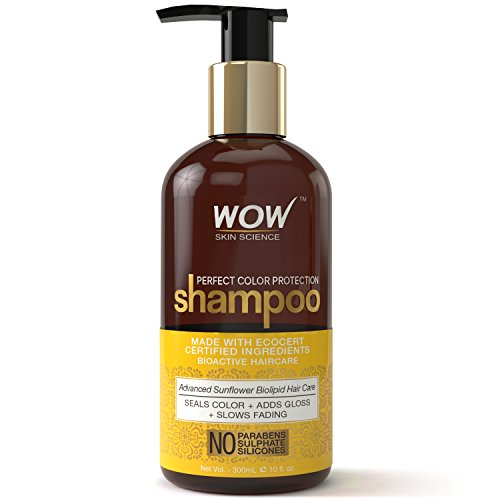 WOW Perfect Color Protection Shampoo No Parabens Sulphates